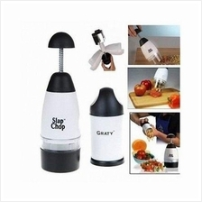 Slap Chop Food Chopper Free Graty Cheese Grater *Free Poslaju