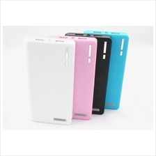 20000 MAH BOOK LEATHER dual USB OUTPUT POWER BANK SAMSUNG IPHONE
