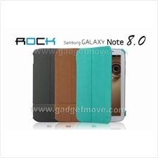 ROCK Texture Galaxy Note 8.0 N5100 Leather Case Flip Cover Standable
