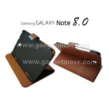 Samsung Galaxy Note 8.0 Magnetic Standable Wallet Flip Leather Case