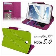 Samsung Galaxy Note 8.0 Gravel Pattern Stand Leather Case Flip Cover