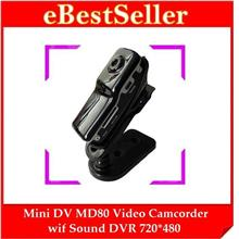 World's Smallest Mini DV MD80 Spy Video Camera Camcoder DVR CCTV