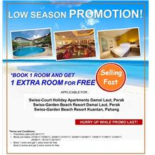 Swiss Court Holiday Apartments Damai Laut (2D1N) Vacation / Hotel