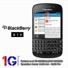 Blackberry Q10 - The latest blackberry with OS 10 + QWERTY Keyboard
