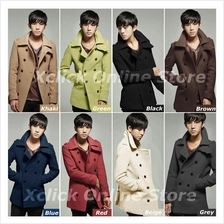 Men-Coat-Korean men Slim suit