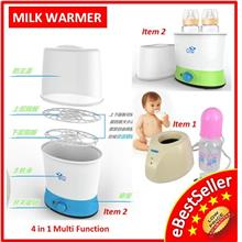 Portable Multifunction Double Single Baby Milk Bottle & Foods Warmer