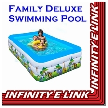 Family Deluxe Mini Swimming Pool Set