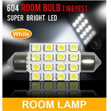 SUPER WHITE 16 LED Room Lamp/ Boot Lamp Universal Fitting [604]