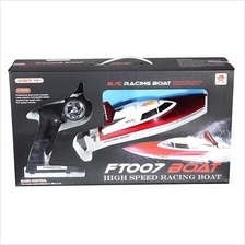 FT007 4CH 2.4G High Speed Racing Remote Control RC Boat READY TO PLAY