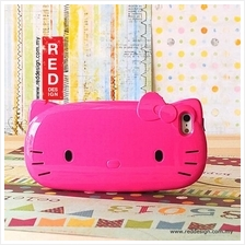 Hello Kitty Face Hard Protection Case for iPhone 5 iPhone 5S - Hot Pin