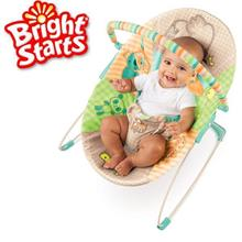 Bright Starts Patchwork Zoo Baby Bouncer, suitable for baby 0-11kg