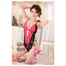 00916Spell color sexy lace leotard back straps  Pajamas