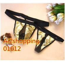 01012 Delicate Maple Leaf G String Couple Underwear Panty