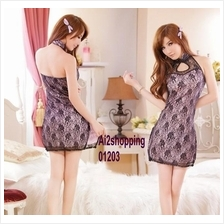 01203New double classic halter dress sexy dress+Thong
