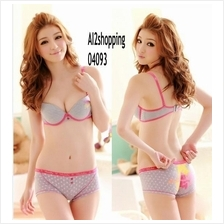 04093Korean sweet lady temperament sexy underwear Bra sets