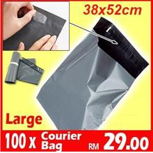 [100pc-BIG] Courier Plastic Bag Post Flyer Poslaju Flyer