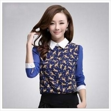 2014 Spring Korean Design Mixed Colors Leopard Print Blouse 6812ac0835