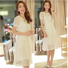 2014 (New) Spring & Summer Short Sleeve Fairy Lace Dress 936a70845