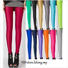 BUY 3 FREE 1  *  Fluorescent Candy Colors Legging -  SY44477
