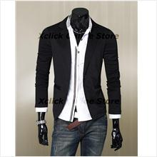 Men Coat- Korean Slim leisure suit jacket Men
