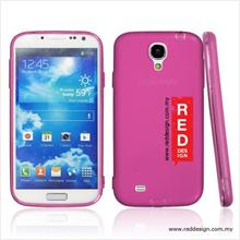 Kucipa Anti Dust Transparent Silicon Case for Galaxy S4 - Pink