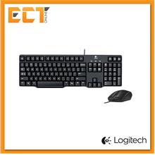 Logitech Classic Desktop MK100 PS2 Keyboard & USB Mouse Combo