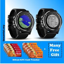 Garmin Fenix 3 HR with Wrist Heart Rate Monitor & Free Gifts
