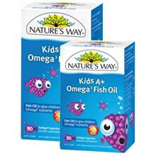 NATURE'S WAY - KIDS A+ OMEGA 3 FISH OIL 30CAPS