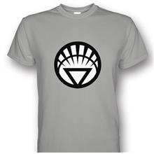 White Lantern Grey T-shirt