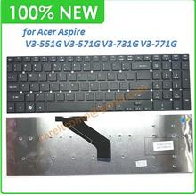 Keyboard for Acer Aspire V3-551 V3-551G V3-571G V3-731G V3-771G