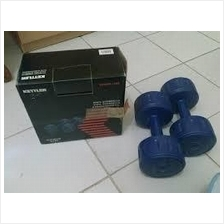 Kettler Vinyl Dumbell 10kg per Pair (GERMANY)