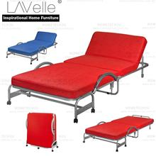 Foldable Bed With Head Reclining Function