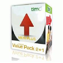 timo� Men Plus Value Pack 450mg 2 x 30's Free 30's Men Plus Worth RM88