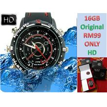 Original Waterproof 16GB Spy HD Camera Smart Watch