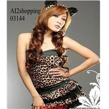 Personalized three-piece leopard sexy party 03144