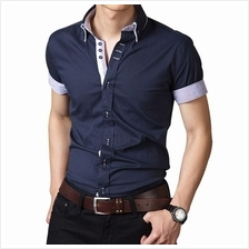 Men Shirt- Korean mens shirt Slim- 3 color