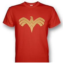 Wonder Woman Eagle Logo T-shirt