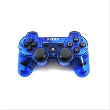 PS2 Playstation 2 Dualshock 2 Wireless 2.4G Controller - Transparent