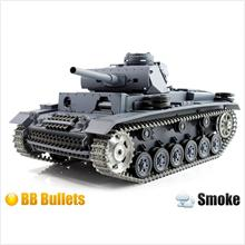 1:16 PZKPFW.4 AUSF.F2.SD.KFZ RC Battle Air Soft BB Tank with Smoke