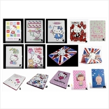 iPad 2 3 NEW 4 Hello Kitty Smart Stand Flip Leather Case Cover *FREE S