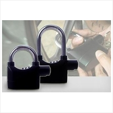 PA024 Kinbar Alarm Lock Padlock 110dB Door Lock Motorcycle lock