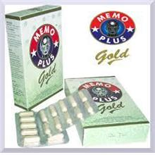 MEMO PLUS GOLD 60'S PROMOTE GOOD HEALTH AND MEMORY