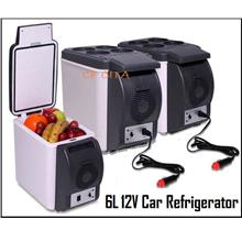 Free Shipping Portable 6L Cooling and Warming Car Fridge Refrigerator