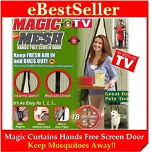 FREE GIFT + Magic Mesh Curtain Net Screen Door Magnetic Anti Mosquito
