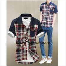 Men Shirt- Korean mens shirt Slim-IP-LW-M366