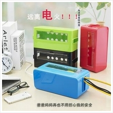 HH055 Cable Organizer Storage Box with Window