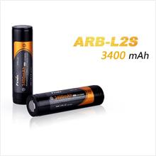 FENIX 18650 3.7V 3400mAh Lithium-ion Rechargeable Battery (ARB-L2S)