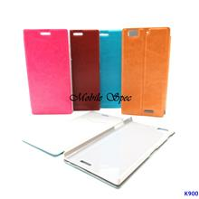 Huawei Ascend G700 Elegant Flip Cover Leather Case Pouch