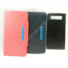 New Universal 6 Inch Wallet Flip Case Cover With Suction Cup