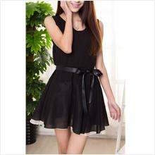 Dinner Dress- Korea style Triple gauze dress